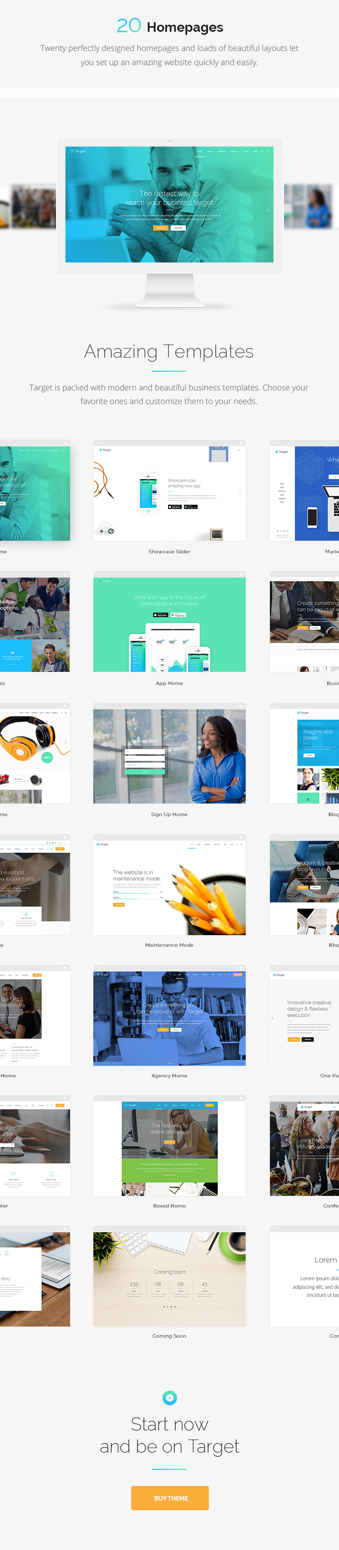 Target - A Powerful & Clean Business Theme - 1